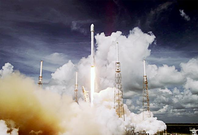 Space X en 4K