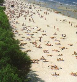 Jurmala: La playa de Riga