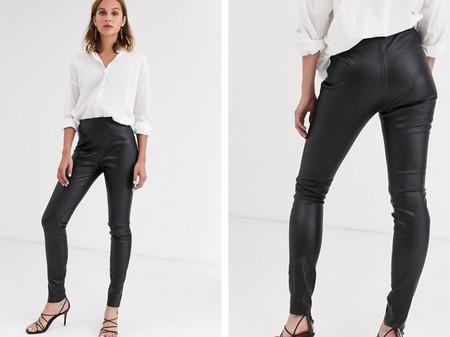 Pantalones Skinny Negro Asos