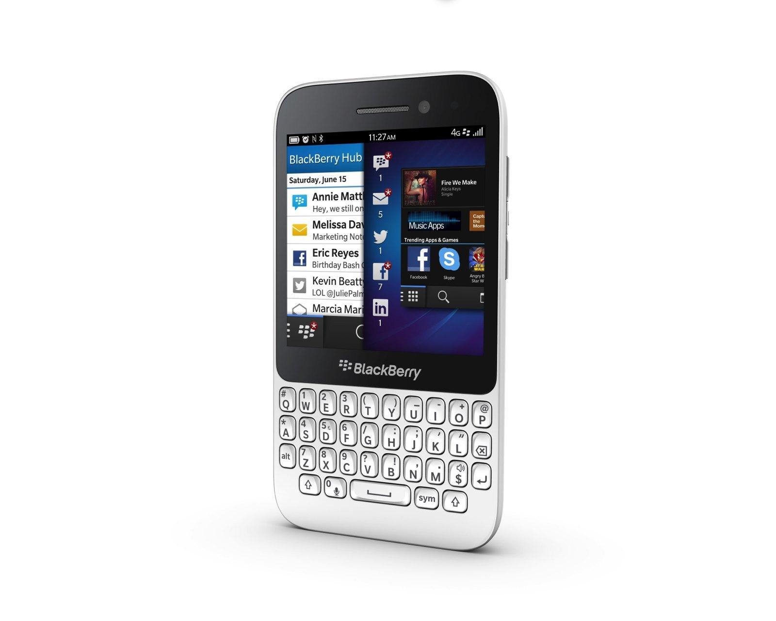 Foto de Blackberry Q5, presentación oficial (1/9)
