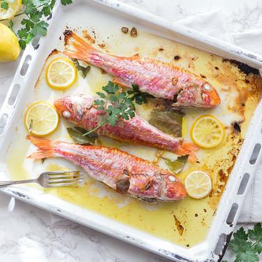 Pescado al horno: siete recetas ideales para los que empiezan la dieta