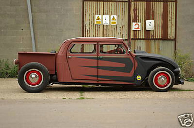Conversiones rarunas: Citroën 2CV Rat Rod Pick-Up