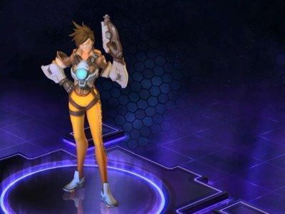 Tracer es la nueva estrella de Blizzard y demuestra por qué  en su tráiler de debut para Heroes of the Storm