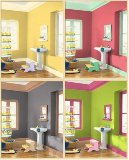 Eligiendo el color de las paredes con decoradores virtuales - Como pintar tu casa por dentro ...