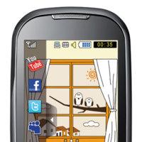Concurso de un teléfono móvil Samsung Corby (S3650)