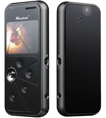 Mustek DV300T, cámara de vídeo delgada