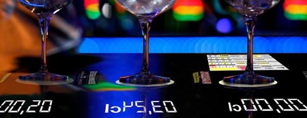 01 Barra De Bar Con Sistema De Medicion De Bebidas Alcoholicas