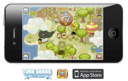 Timegeeks, un juego entretenido para pasar el rato