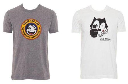 El gato Félix en las camisetas de Dolce & Gabbana