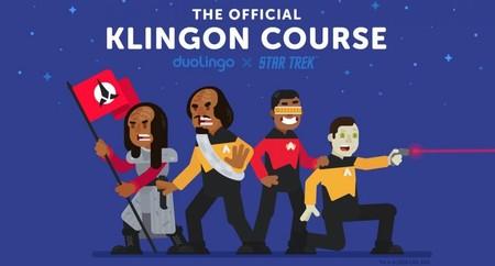 ¡Atención Trekkies! (y frikis en general): Duolingo ya tiene un curso para aprender a hablar Klingon gratis