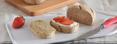 Cómo hacer pan integral en el microondas: receta saludable en 10 minutos con levadura en polvo