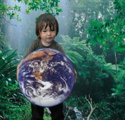 Los niños, enfermos medioambientales