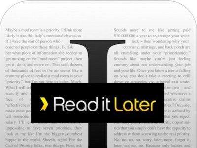 Cara a cara: Instapaper contra Read it Later