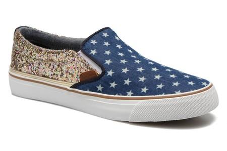 Las zapatillas sin cordones Pepe jeans Alford Party Stars están por 27,50 euros en Sarenza