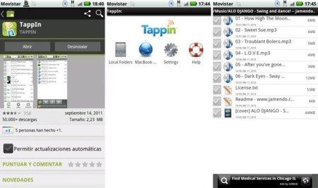 Reto nº8 para el Motorola Atrix - centro multimedia para el coche - streaming