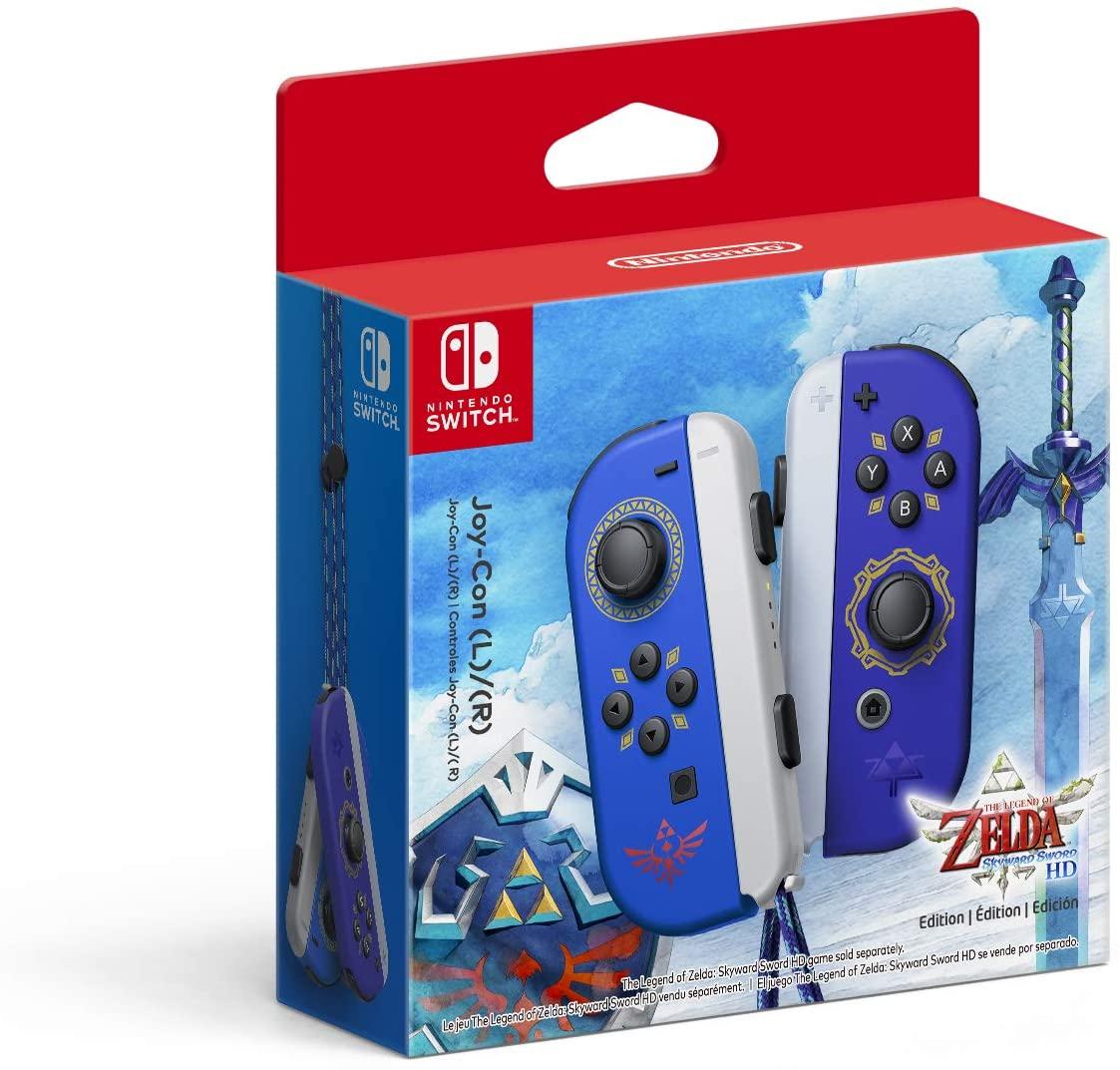 Joy-Con edición The Legend of Zelda: Skyward Sword HD