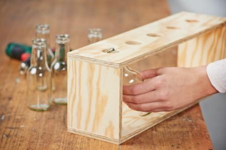 Vase Step 5 Flaschen Ins