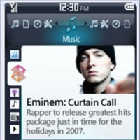 El software de Zune en Windows Mobile