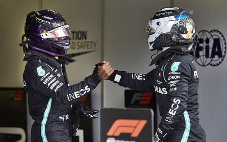 Las diferencias entre Lewis Hamilton y Mercedes no son solo económicas: también quiere veto sobre su compañero