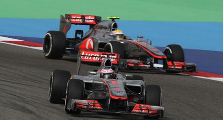 McLaren podría calentar sus neumáticos con los frenos