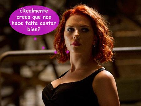 Scarlett Johansson monta una banda sólo de titis: ¿importa si cantan o no?