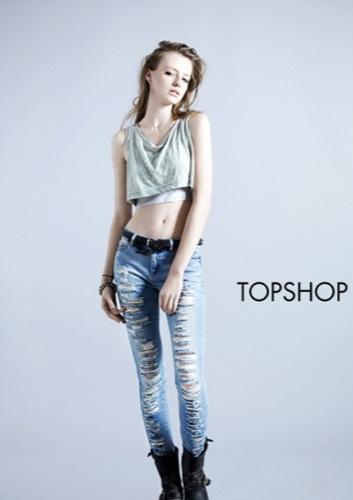 TopShop, colección Denim Primavera-Verano 2010: el vaquero de la mujer joven I