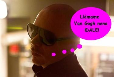 Boquitas de Piñón: Pitbull, ese arte.