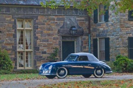 Un Porsche 356 descapotable de 1952, el más antiguo de América