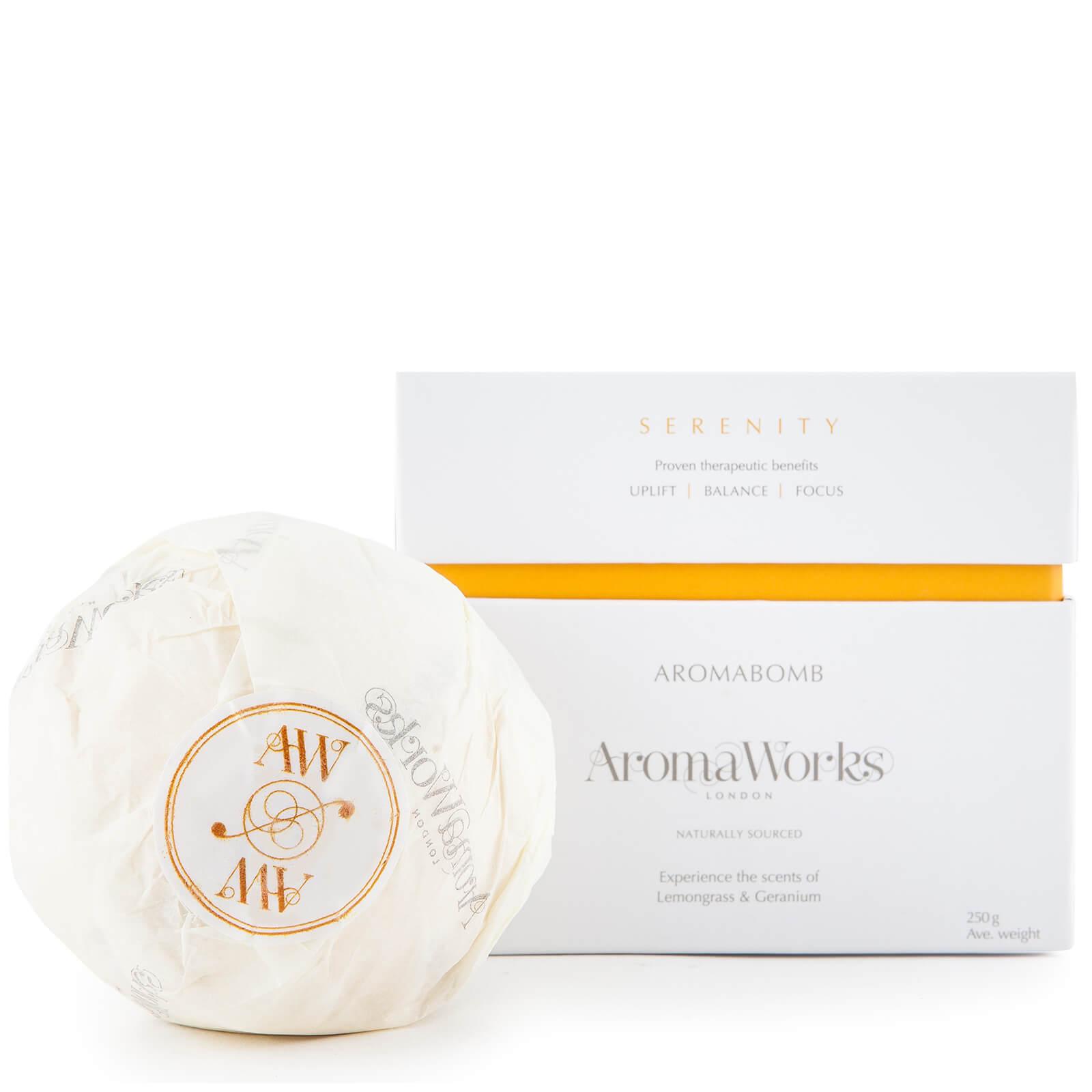 Bomba de baño terapéutica Serenity de AromaWorks