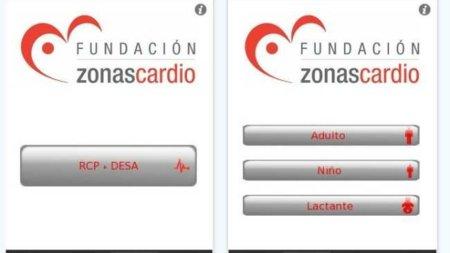 """Salva vidas con tu iphone: aplicación """"Fundación ZonasCardio RCP-DESA"""""""