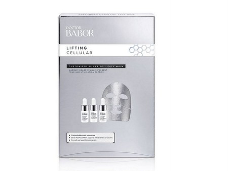 Customized Silver Foil Face Mask Liftig Cellular Babor
