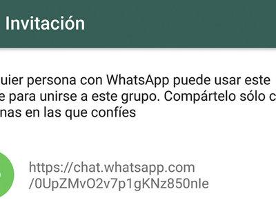Encuentran un modo de infiltrarse en cualquier grupo de WhatsApp