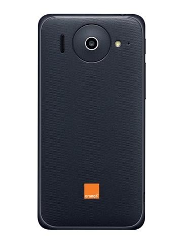 Orange Daytona, fabricado por Huawei - parte de atrás