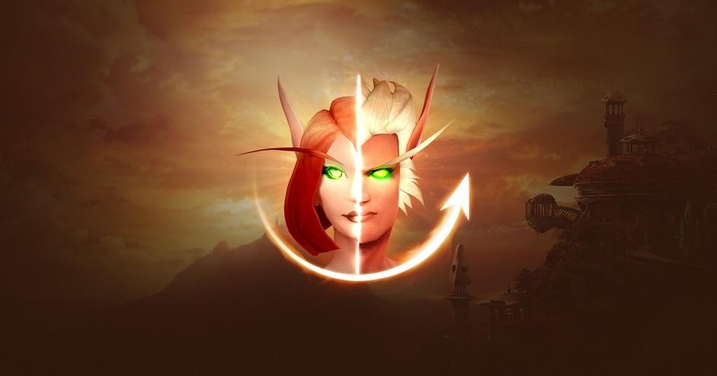 World of Warcraft: Shadowlands pondrá gratis la posibilidad de cambiar de género a los personajes