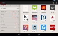 Press para Android es un lector de Google Reader muy cuidado