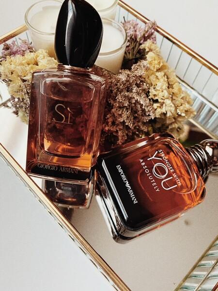 Hemos probado My Intense Sí y Stronger With you Absolutely, los nuevos perfumes de Armani para mujer y para hombre que conquistan por igual