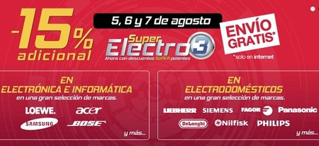 Descuentos extra en electrónica y electrodomésticos de El Corte Inglés