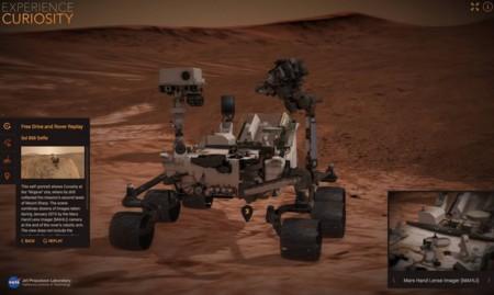 Date una vuelta por Marte con los simuladores web que te ofrece la NASA