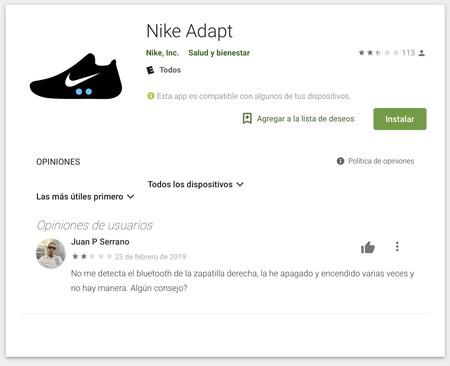 Confesión Cenar Malentendido  Los dueños de las Nike Adapt BB en Android están viendo como sus zapatillas