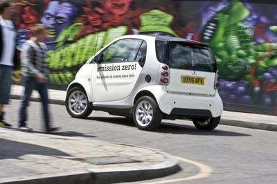 El Smart EV continúa dando pasitos
