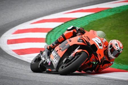 Iker Lecuona se reivindica liderando sus primeros entrenamientos libres de MotoGP bajo la lluvia