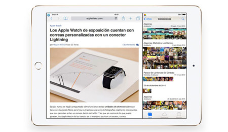 Doble pantalla en el iPad