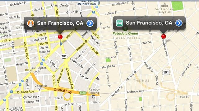 Google Maps Vs. Apple Maps
