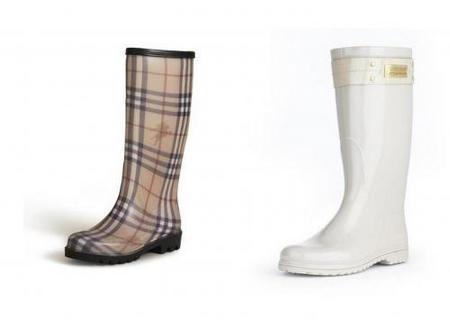 La colección de botas de agua Burberry