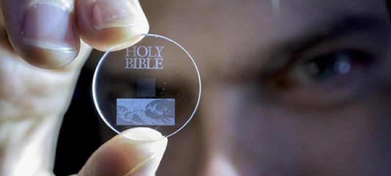 Pequeños discos de cuarzo para almacenar hasta 360 TB por millones de años. Sí ¡360 TB!