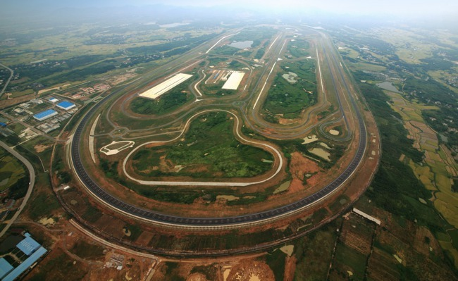 GM proving ground China