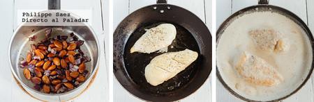Pollo Almendrado Receta