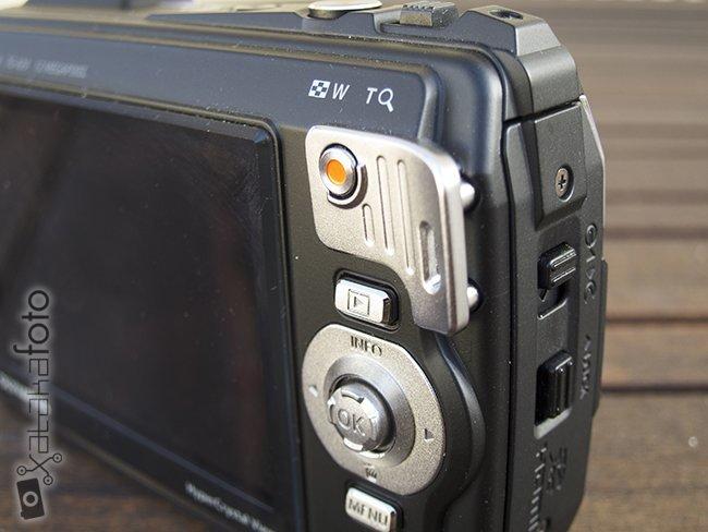 Olympus TG-820 controles