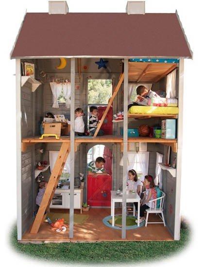 Súper casitas infantiles de madera de Green House
