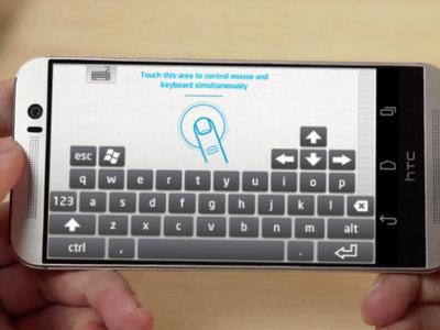 Intel Remote Keyboard para Android, una nueva opción para usar tu smartphone como teclado y ratón